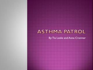 Asthma Patrol