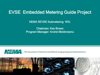 EVSE  Embedded Metering Guide Project