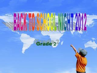 BACK TO SCHOOL NIGHT 2012