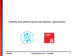 Particle flow performance and detector optimization