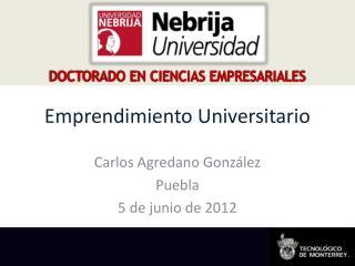 Emprendimiento Universitario