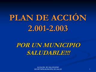 PLAN DE ACCIÓN 2.001-2.003