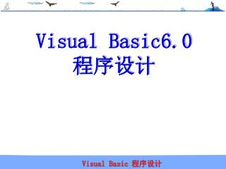 Visual Basic6.0 程序设计