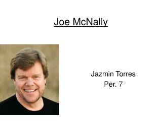 Joe McNally