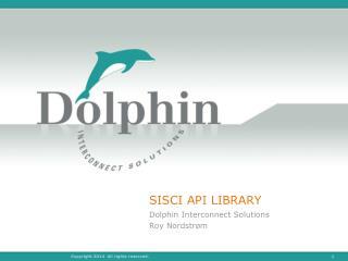 SISCI API LIBRARY