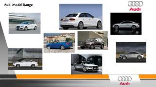 Audi Model Range