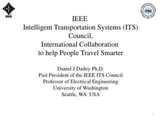IEEE  Intelligent Transportation Systems (ITS) Council, International Collaboration