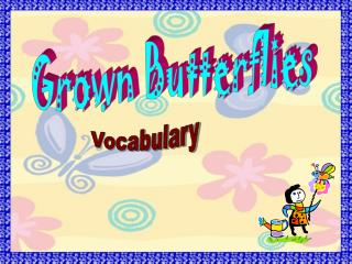Grown Butterflies