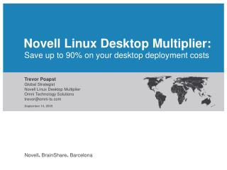 Save up to 90% on your desktop deployment costs