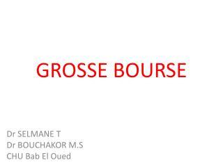 GROSSE BOURSE