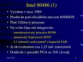 Intel 80486 (1)