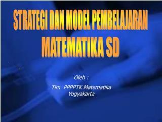 MATEMATIKA  S D