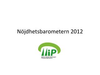 N�jdhetsbarometern 2012