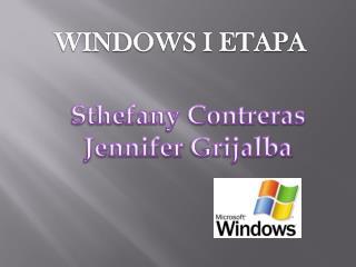 WINDOWS I ETAPA