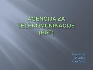 Agencija za telekomunikacije  (hat)