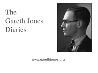 The  Gareth Jones Diaries