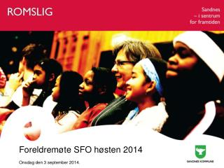 Foreldremøte SFO høsten 2014