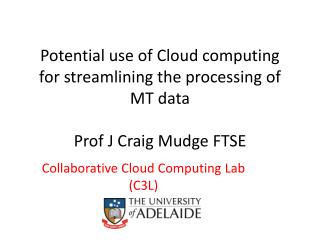 Collaborative Cloud Computing Lab (C3L)