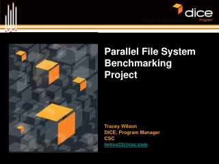 Parallel File System Benchmarking Project
