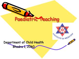 Paediatric Teaching