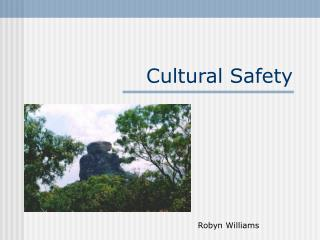 Cultural Safety