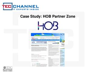 Case Study: HOB Partner Zone