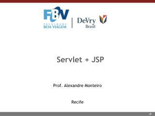 Servlet + JSP