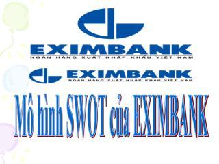 Mô hình SWOT của EXIMBANK