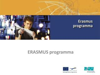 ERASMUS programma