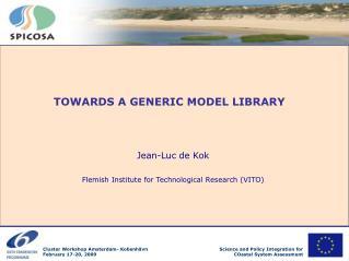 Jean-Luc de Kok Flemish Institute for Technological Research (VITO)