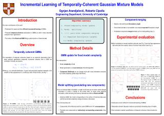 Incremental Learning of Temporally-Coherent Gaussian Mixture Models