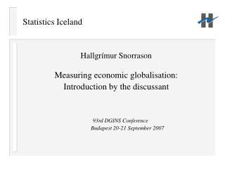 Statistics Iceland