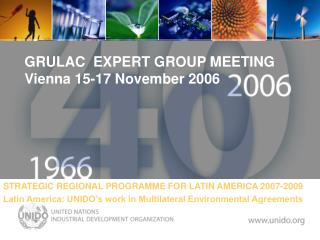 GRULAC  EXPERT GROUP MEETING  Vienna 15-17 November 2006 .