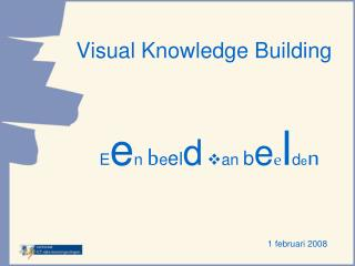 Visual Knowledge Building