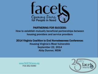 FACETSCares 703-352-5090