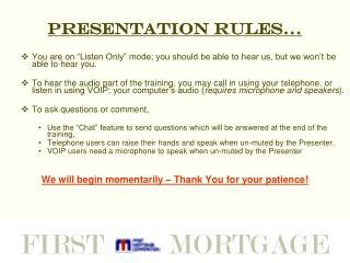 "Presentation ""Rules""…."