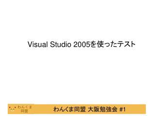 Visual Studio 2005 ???????