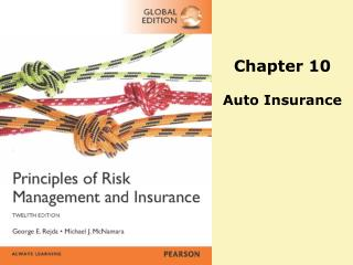 Chapter 10 Auto Insurance
