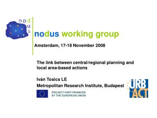 no d us working group Amsterdam, 17-18 November  2008