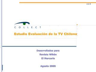 Estudio Evaluación de la TV Chilena