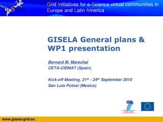 Bernard M. Marechal CETA-CIEMAT (Spain) Kick-off Meeting, 21 st  - 24 th  September 2010