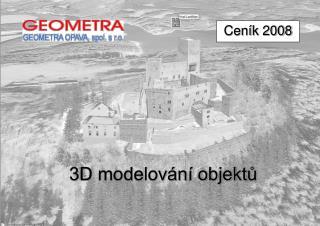3D modelování objektů
