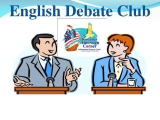 English Debate Club