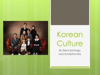 Korean Culture