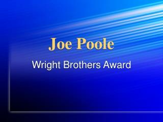 Joe Poole