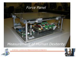 Force Panel Measurement of Human Dexterity