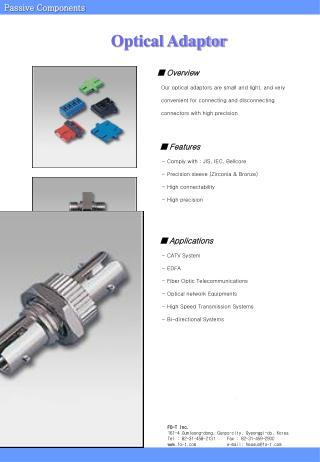 Optical Adaptor