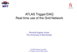 ATLAS Trigger/DAQ  Real-time use of the Grid Network