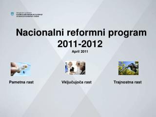 Nacionalni reformni program 2011-2012 April 2011