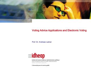 Voting Advice Applications and Electronic Voting